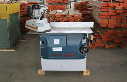 TECNICA S 300 SUPER Sliding Table saw Machine