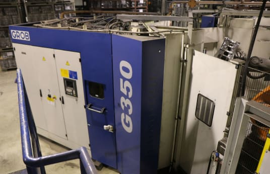 GROB G 350 Universal Machining Centre