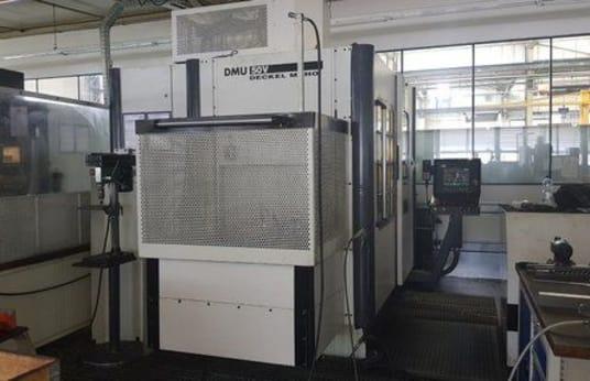 DECKEL MAHO DMU 50V Vertical Machining Center