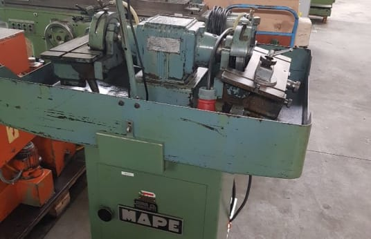 MAPE Double Grinder Bench