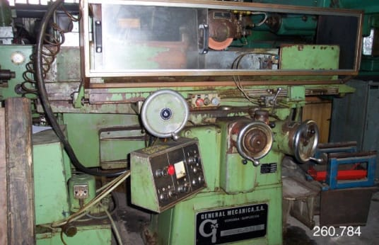 Шлифовъчна машина GENERAL MECANICA NB-500 Tangential