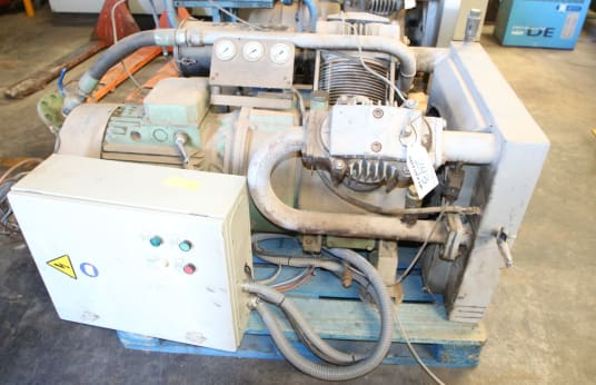 ABC DX 40 15 Kolbenkompressor