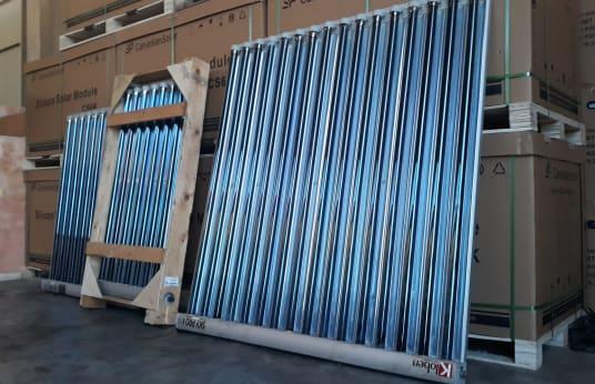 KLOBEN Lot of Solar Collectors (x 3)