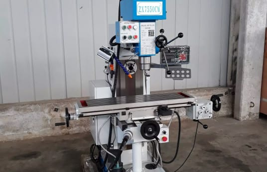 TESTA VELOCE ZX 7550 CW Universal Milling Machine