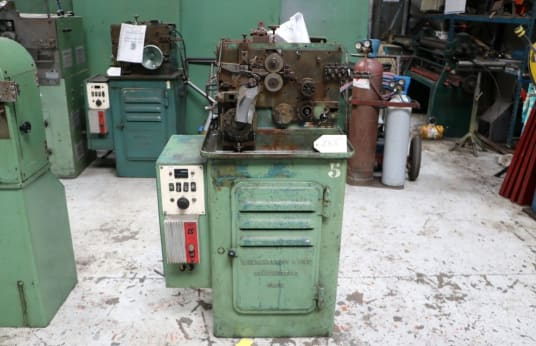 HERCKELBOUT PR 8 Spring Winding Machine