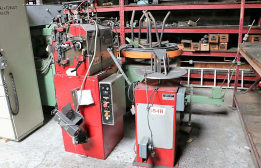 BOBBIO BTS 100 Spring Winding Machine