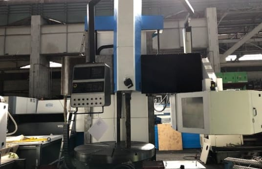 Токарно-карусельный станок VERTIMAXX 2000