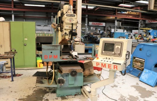 Freze Tezgahı P.M.E.R DPM Universal CNC