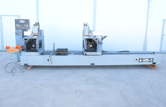 OMGA AL 529 P Double Cut Off Saw for Aluminum