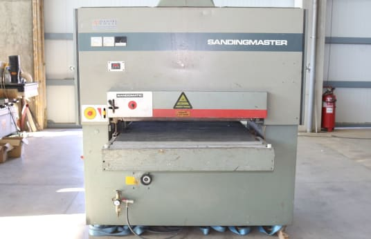 SANDINGMASTER SCSB 2 1100 Širokopásová bruska