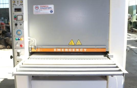 Geniş Kayışlı Kumlama Makinesi SICAR UNICA RT