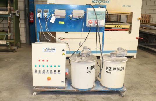 CABYPRESS Bedienfeld für Abwasseraufbereitungsanlage für Kabinen