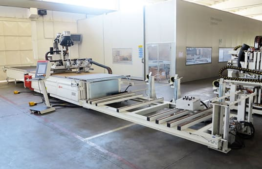 SCM PRATIX 15N Cnc Router With Nesting Table