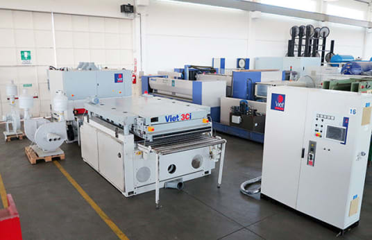 VIET Calibrating And Sanding Line