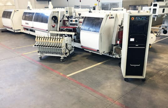 IMA COMBIMA/K/II/R75/1075/V/R3 Double Sided Combination Edgebander