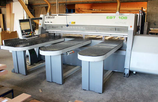 SELCO EBT 108 Beam Panel Saw With Automatic Loading