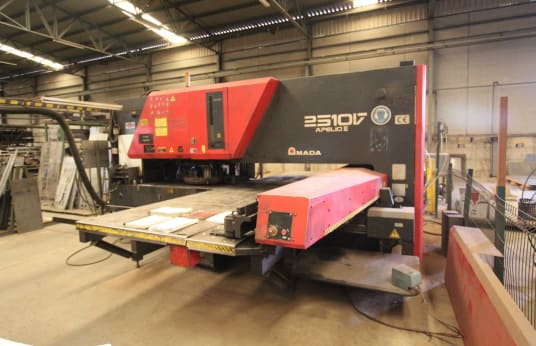 AMADA SCHIAVI APELIO III 2510V Combination CNC Punching/Laser Cutting Machine