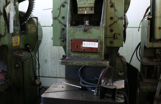 HEUSER EPL 110 Single-Column Eccentric Press