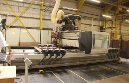 BIESSE ROVER C 6.50 CONF.2 EDGE CNC obdelovalni center with Edgr Banding Unit