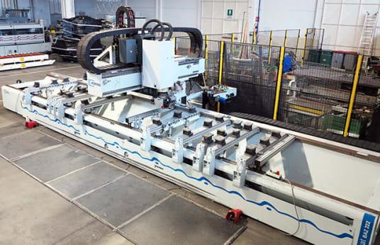 HOMAG BAZ 222/60/K Working center for boring routing edgebanding