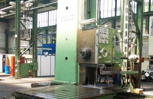 WOTAN B 160 P Floor-Type Boring Mill with Rotary Table