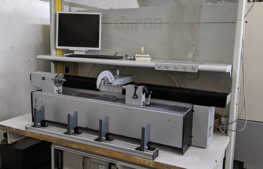 HELIOS HELIO-PAN II 700 CNC Shaft Measuring Device