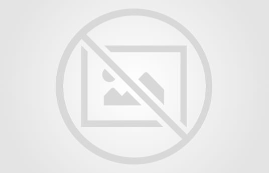 POLZER Glazing Press with Roller Feed Conveyor