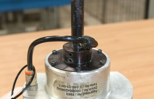 HOMAG 1-056-11-0611 HSK F63 Edge Blower Aggregate