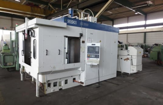 Centro de mecanizado horizontal GROB BZ 500