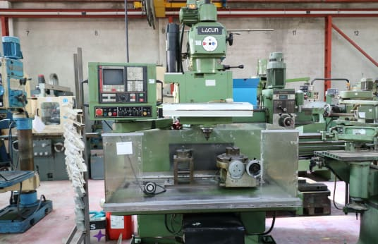 LAGUN FTV2-CNC CNC turret milling machine