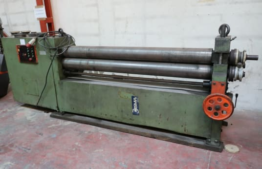 DISMA 26 TRS Roll Plate Bending Machine