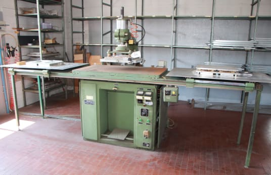 SIATEM NTE 75 PVC Blistering machine