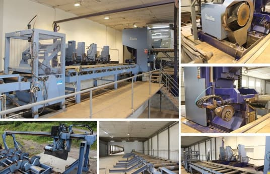 PRIMULTINI - PRIBO SIF 1600 / CEI / IEC / WSF / DPC Sawmill