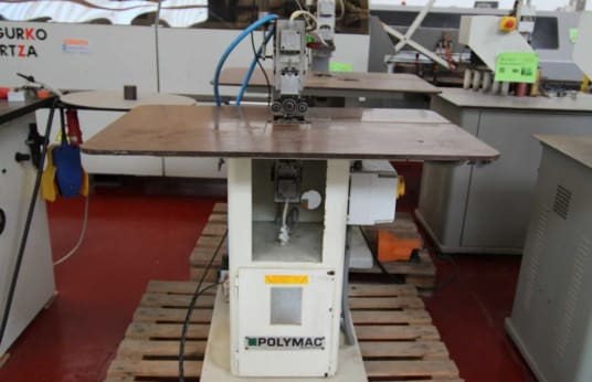 POLYMAC SPEEDY 90 Edge Trimming Machine