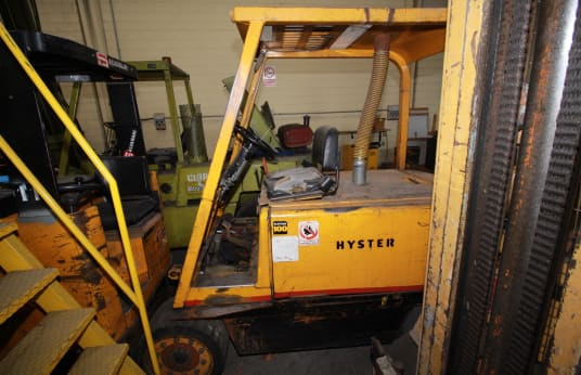 HYSTER Forklifts (x2)