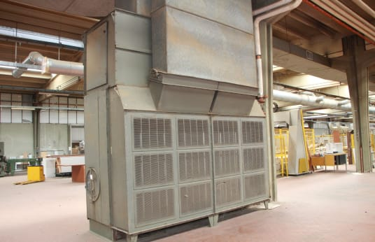 DE CARDENAS UTR 630 VSP Internal Boiler for Heating