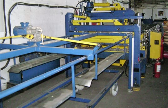 BUD-MASZ D-23F Profiling machine for sheets