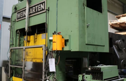 WEINGARTEN HD 160 Double-Column Punching Press