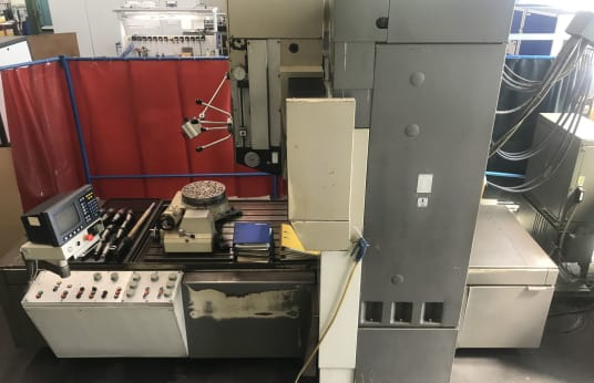 MIKROMAT BKOZ 900 x 1400/5 Koordinatenbohrmaschine mit Teilapparat