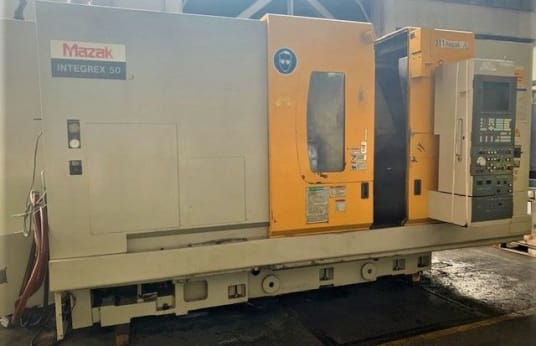 MAZAK Integrex 50 y CNC strug