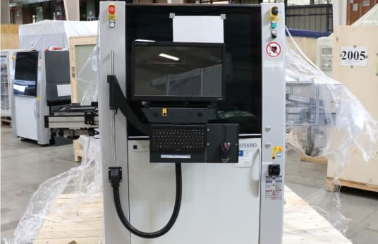 VISCOM S6056BO DTC Automatic Wire Bond Inspection Machine