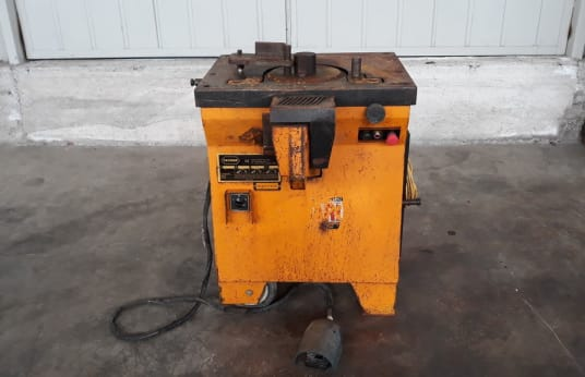 TECMOR Combined machine, shear, pipe-bending