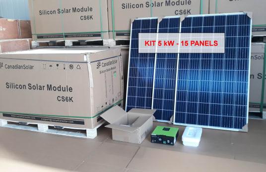 CANADIAN SOLAR SOLAR CS6U Photovoltaic System 5 KW A++ class
