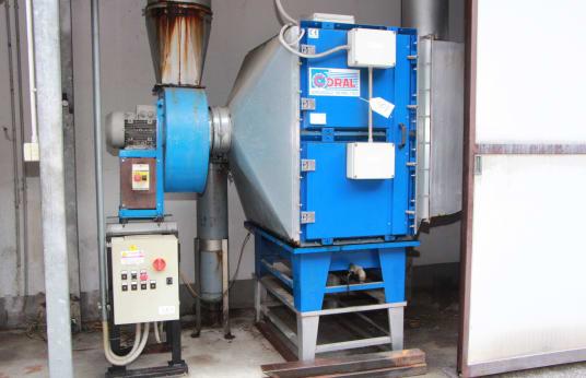 CORAL EF 40 Filtering system