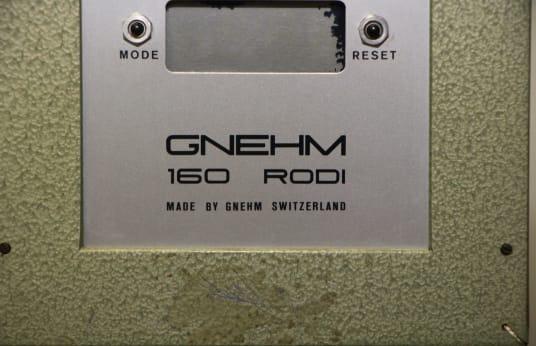 GNEHM 160 RODI Durometer