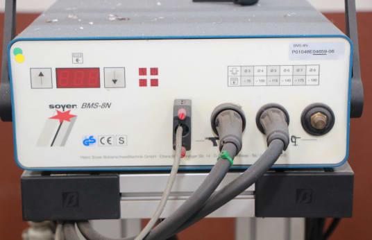 SOYER BMS-8N Captive screws welding machine