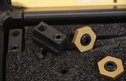 MITEE-BITE T-SLOT KIT Lot of Tee-slot clamps