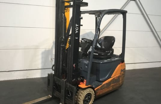2x TOYOTA 8EBEKT16 Electric Forklift 1 6t: buy used
