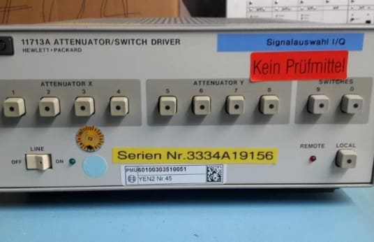 AGILENT 11713A Attenuator / Switch Driver