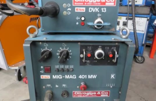 ESS 401 MW + DVK MIG MAG Welder